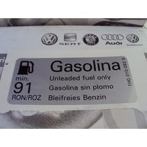 Adesivo Gasolina Tampa Do Tanque Original Vw Golf