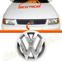 Emblema Volkswagen Grade Polo Classic 97 - 01 Cromado Novo