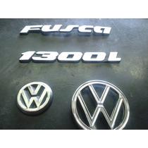 Kit Emblema Fusca Mala Capo Fusca 1300l