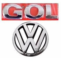 Emblema Gol G3 + Vw Da Grade - Geração 3 - Modelo Original