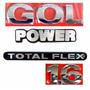 Emblema Gol G3 + Power 1.6 Flex- Geração 3 - Modelo Original