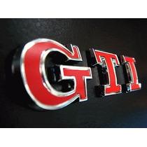 Emblema Adesivo Vw Volkswagen Gti Golf Polo Gol - Traseira