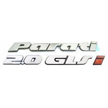 Emblemas Parati Bola 2.0 Glsi - Até 1999 - Modelo Original