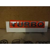 Emblema Turbo Gol Parati 1.0 16v Turbo Original Vw