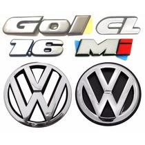 Emblemas Gol Bola Cl 1.6 + Vw Grade E Mala - Modelo Original
