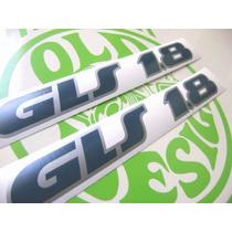 Adesivo Gls 1.8 Para Gol Voyage Parati 91 Em Dian Old Design