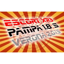 Adesivos Ford Escort Xr3 Verona Pampa 1.8 Hobby - Old Design