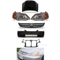Kit Frente Honda Civic 2001 2002 2003 Peças Novas