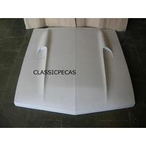 Capô Ford Maverick Gt 302 V8 Com Entrada De Ar = Ao Original