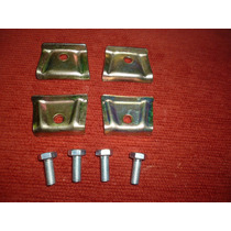 Vw Fusca Kit Chapas E Parafusos Fixação Tanque Combustível