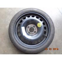 Estepe Fino 4x100 Gm Onix,spin,agile C/ Pneu 115/70/16