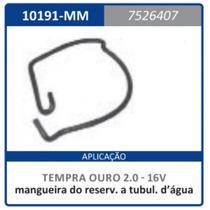 Mangueira Reservatorio A Tubulacao Agua Motor 2. Tempra 1997