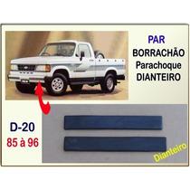 Borrachão Parachoque Dianteiro D-20 1985 À 1996 D40 Veraneio