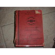 Manual De Peças Chevrolet 33 1933 Completo Original
