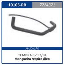 Mangueira Respiro Oleo Com Rabicho Motor 8v Fi 7 Tempra 1997