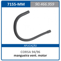 Mangueira Ventilacao Motor Gm 90466959 Corsa:1994a1996