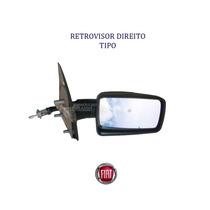 Fiat Tipo _ Retrovisor Direito C/controle Manual*