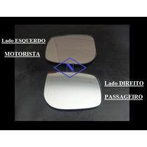 Espelho Lente Retrovisor Com Base Novo Corolla Ano 2008/...