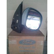 Espelho Retrovisor F-250 1998/2010 Manual Orig Ford L. Dir