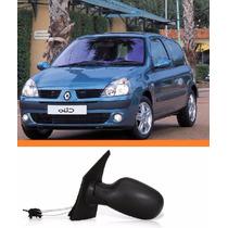 Retrovisor Clio 2000 2011 Eletrico Lado Esquerdo Novo