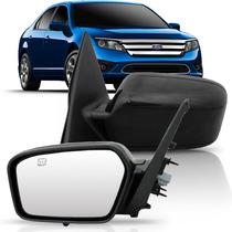 Retrovisor Ford Fusion 06 07 08 09 10 11 12 Le Luz Cortesia