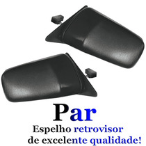 Par Retrovisor Chevette 87 88 89 90 91 92 93 Controle Manual