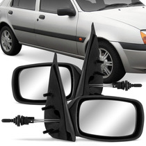 Retrovisor Ford Fiesta 96 97 98 99 2000 A 03 Controle Manual