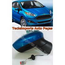 Retrovisor New Fiesta Ano 2012 2013 2014 2015 Original L/d