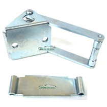 Limitador Porta Traseira (baú) + Chapa Fiorino 1996 Direito