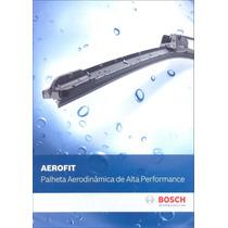 Palheta Aerofit Original Bosch Vw Fox /2012 Gancho Af22/15