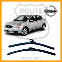 Par Palheta Limpador Parabrisa Dianteiro Nissan Sentra 07/..