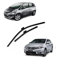 Palheta Limpador Parabrisa Honda New Fit City Especifico