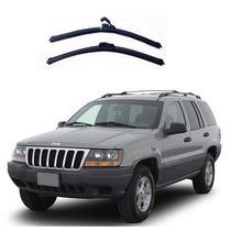 Jogo Palhetas Diant Limpador Parabrisa Jeep Cherokee 93-01