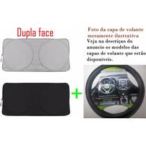 Kit Capa De Volante + Protetor Painel Para Sol Ford Ka 2009