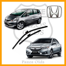 Palheta Limpador Parabrisa Honda New Fit City 2009 À 2014