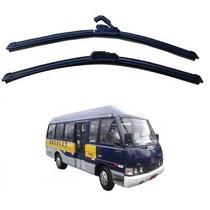 Par Palhetas Diant Parabrisa Asia Motors Micro Onibus 97-01