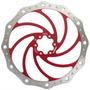 Disco De Freio Bengal Wave 203mm Vermelho