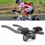 Clip Guidão Apoio Triathlon Speed Mtb Bike Bicicleta 31,8mm