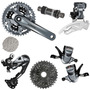 Kit Shimano Alivio 4000 27v 7 Peç 2015 Shadow