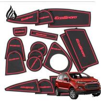 Ford Ecosport Tapete Interno Porta Objetos Trecos Acessorios