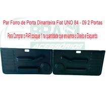 Par Forro Porta Revestimento Uno 2 Portas Dianteiro 84 - 09