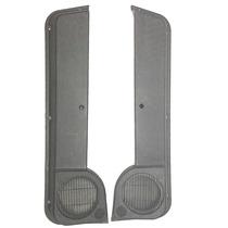 Porta Objeto Uno 2 E 4 Portas ( Par ) Cinza E Preto