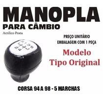 Manopla Cambio Tipo Original Corsa 94 A 98 Preta - 40117