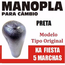 Manopla Cambio Bola Tipo Original Fiesta Ka Preta - 40058
