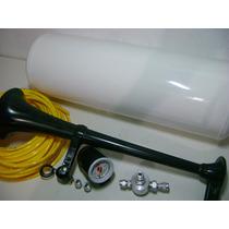 Buzina Ar Caminhão .cilindro ,manometro, Corneta, Valvula