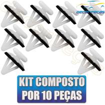 Kit Grampo Revestimento Forro Porta Captiva 10 Peças Novo