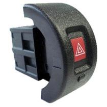 Interruptor Botão Pisca Alerta Astra 99 Em Diante C/ Led