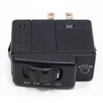 Botão Interruptor Regulagem Altura Farol Gm Monza Gls 91/97