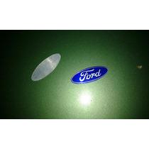 Emblema Original Logo Ford Aluminio Volante Escort Delrey