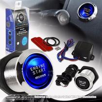Botão Start Engine (chave De Partida) - Led Azul E Vermelho